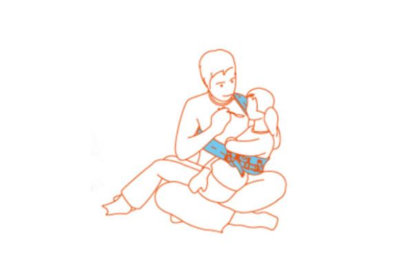 兒童特製揹巾-腦性麻痺及多重障礙兒童專用
