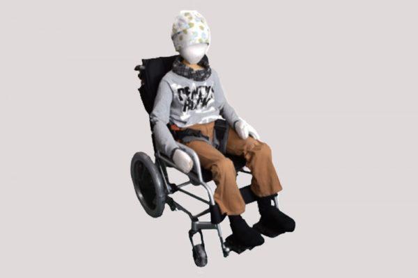 兒童特製骨盤固定帶-腦性麻痺及多重障礙兒童骨盤矯正專用
