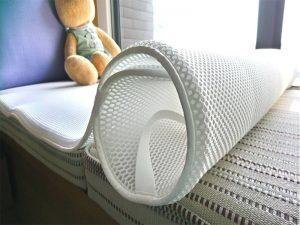 立體透氣、冬暖夏涼、彈性優、觸感佳,讓孩子安心舒眠的3D立體高透氣床墊